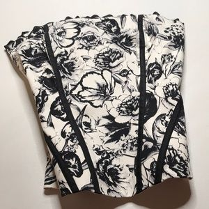 WHBM • Floral Corset Bustier